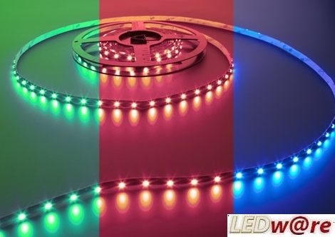 Vari Flex Series (RGB) LED strip | 12 Volt | 36 Watt | 150 LEDs | 5 Meter | Variabel