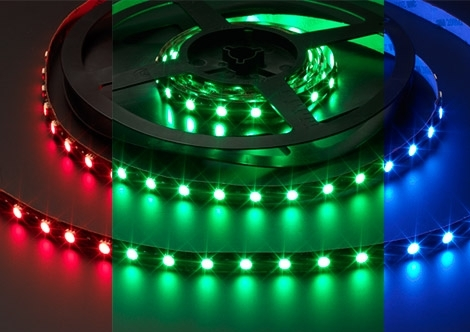 Vari Flex Series High Output (RGB) LED strip | 12 Volt | 72 Watt | 300 LEDs | 5 Meter | Va