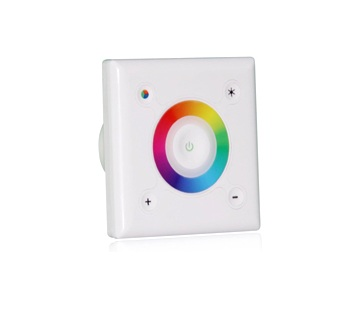 APPLE Control | RGB LED Controller | 3 x 48 Watt | 12-24 Volt | Wallpanel