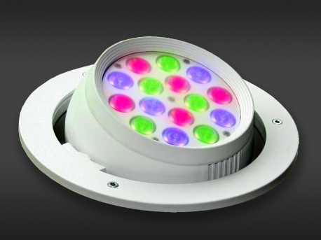 Gekleurde Led Lampen : Led spots gekleurde led spots