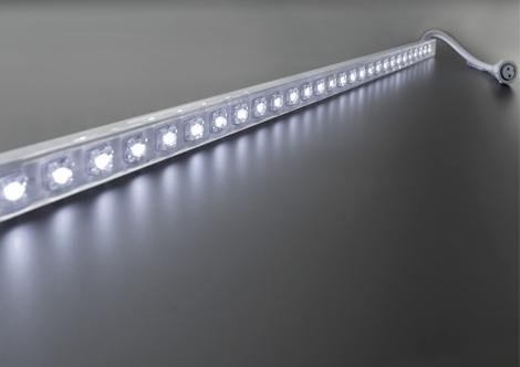 One color led strip 12 volt 2 4 watt 30 leds wit